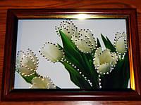 Великолепные картины со стразами Тюльпаны