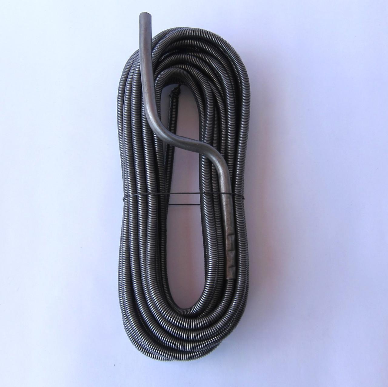 Трос для чистки канализации ➡️ D=10 мм / L=4 м ➡️ Канализационный трос