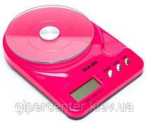 Весы кухонные электронные SCA-301 до 7 кг, точность 1 г