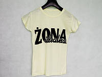 "Футболка женская  ""Zona Idealna"""