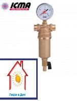 Фильтр для водоснабжения самопромывной ICMA 1/2*3/4