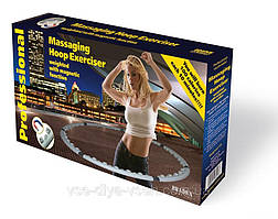 Обруч массажный, антицеллюлитный Хулахуп Massaging Hoop Exerciser