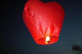 Небесные фонарики купола сердца
