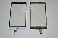 Оригинальный тачскрин / сенсор (сенсорное стекло) для LG L Bello D331 D335 (белый, Synaptics, BH1440) + СКОТЧ