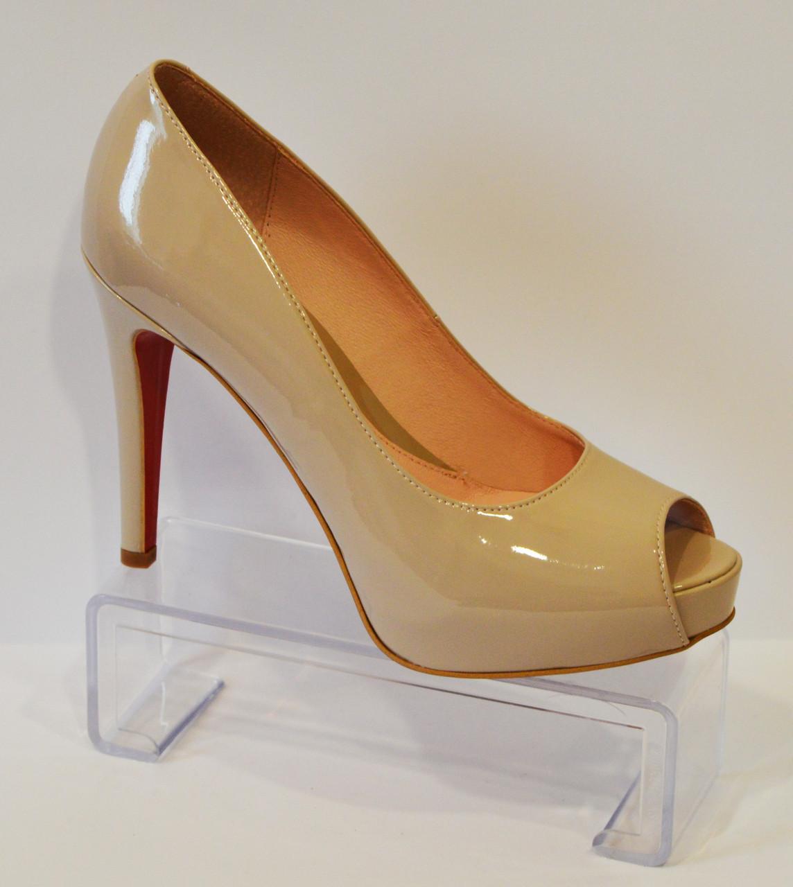 Туфли женские лакированные Bravo Moda 1431