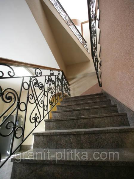 Лестницы из гранита, гранитные ступени