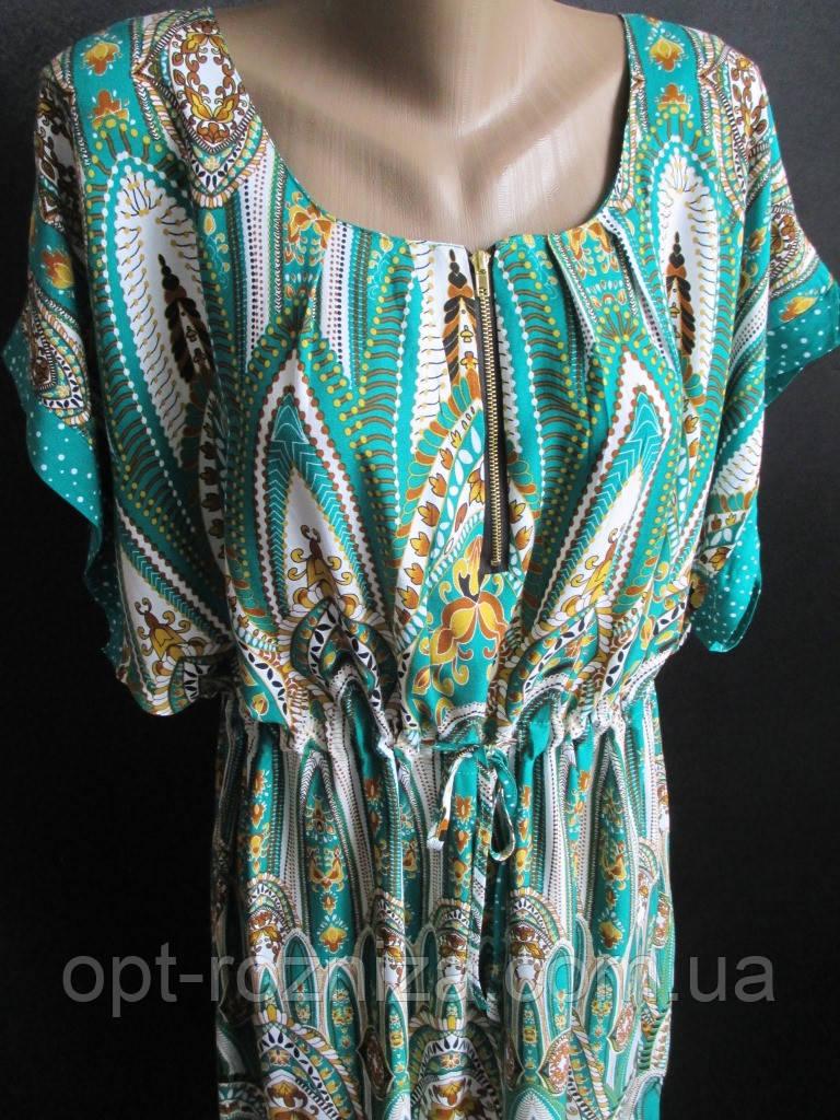 Женские платья из штапеля с поясом.