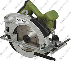Пила дисковая Eltos ПД-185-1700л, фото 3