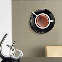 """Настенные часы """"Чашка кофе на блюдце"""", фото 1"""