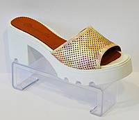 Шлепанцы на невысоком каблуке Magnolya 250