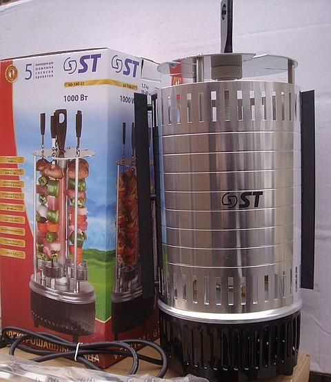 Электрошашлычница 6 шампуров ST 60-140-01