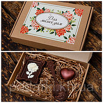 Шоколадный набор для любимой девушки на праздник.