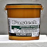 Штукатурка барашек силикон VarTex Fastech  размер зерна: 1,5 мм, ведро - 25 кг
