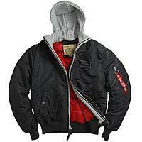 Летная куртка MA-1 D-TEC Alpha Industries (черная)