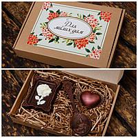 """Шоколадный набор """"Любимой женщине"""". Оригинальные подарки для женщин."""