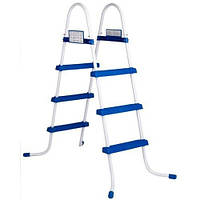 Лестница для бассейнов INTEX высота от 76 до 122 см.