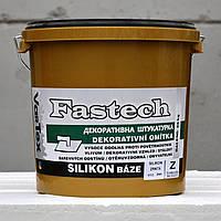 Силиконовая штукатурка VarTex Fastech, короед, размер зерна: 2,0 мм, ведро - 25 кг