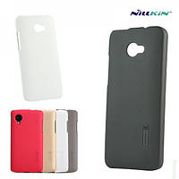 Чехол-накладка NILLKIN Frosted Shield Case HTC Desire 200 White