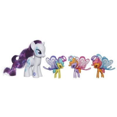 Hasbro My Little Pony Cutie Mark Magic Пони Рарити (Rarity) и бризи