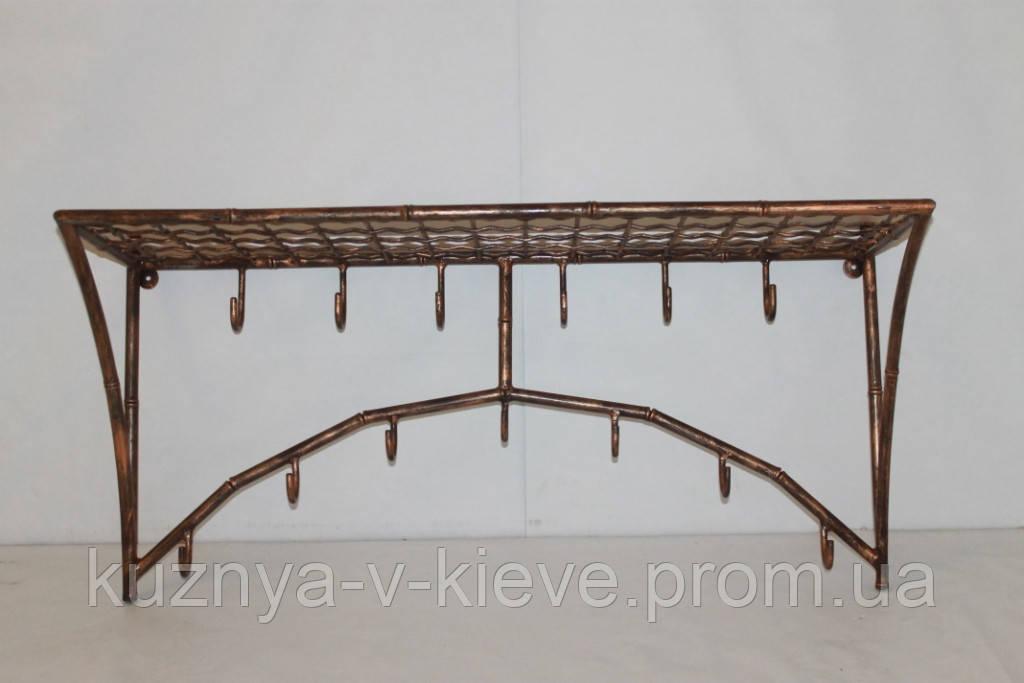 Вешалка настенная бамбук