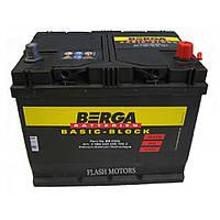 Аккумулятор Berga Basic Block 68A/h 550A R+, ASIA (568404055)