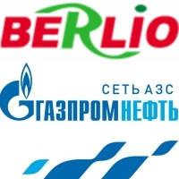 Дизельное топливо в сети АЗС Газпромнефть в России по карте Berlio