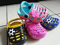 Детские кроксы Giolan оптом Размеры 18,19, фото 1