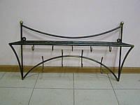 Вешалка настенная бамбук дуга, фото 1