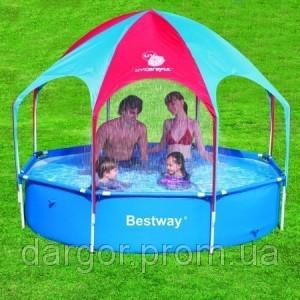 Каркасный бассейн Bestway Splash-in-Shade Play Pool 56193
