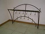 Вешалка настенная бамбук дуга, фото 2