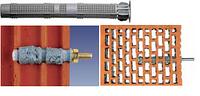 FIS H 16x130K системы и приспособления для крепления в кладке