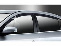 Дефлекторы окон ветровики Renault Fluence 2009-