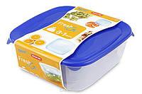 Комплект емкостей для продуктов Fresh&Go 0.25+0.8+1.7+2.9 литра Curver