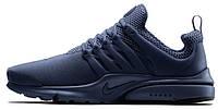 Мужские кроссовки Nike Air Presto ID Metal Blue, найк