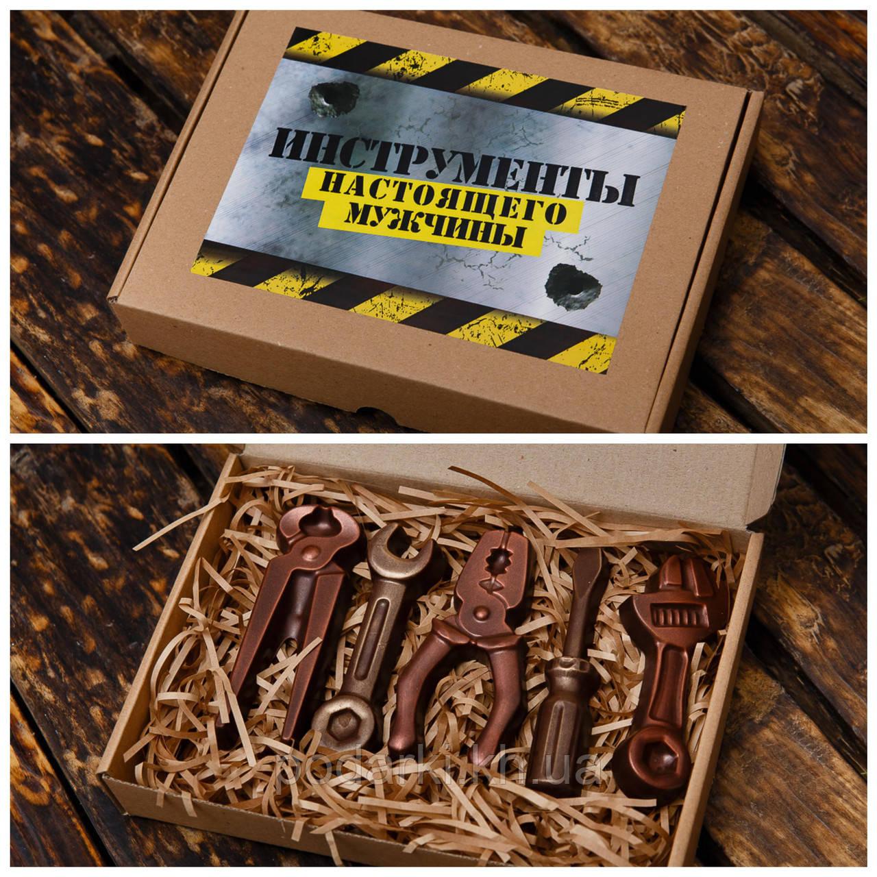 """Шоколадный набор """"Инструменты"""". Креативный подарок для папы."""