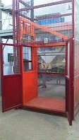 Электрический грузовой шахтный подъёмник Г/П 500 кг.