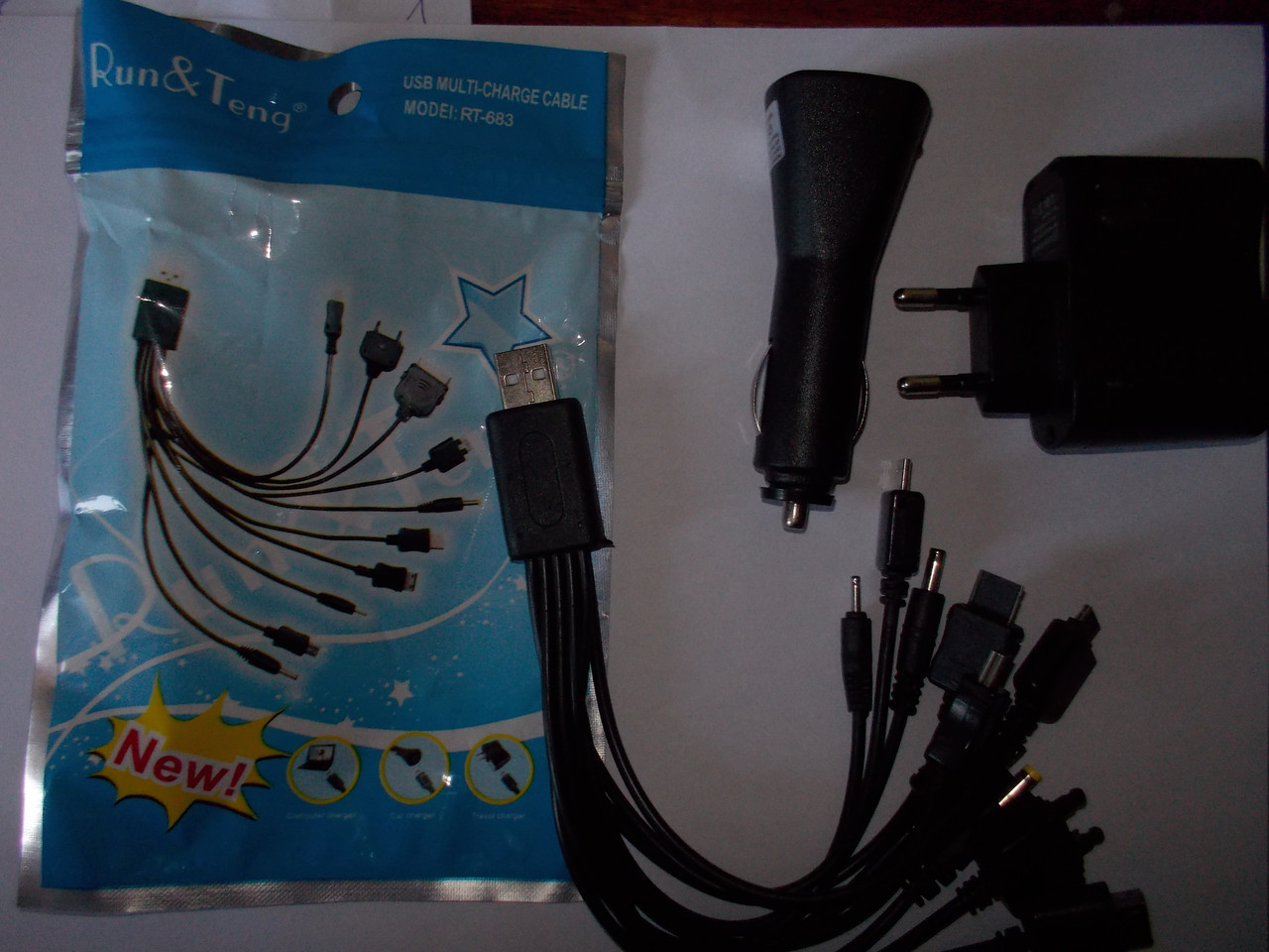 Универсальная зарядка для телефонов 10 в 1 mobi charge