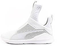 Мужские кроссовки Rihanna x Puma Fenty Trainer White, пума