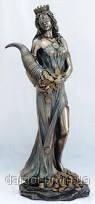 Статуэтка Фортуна с рогом изобилия