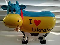 """Копилка корова """"Я люблю Украину"""", фото 1"""