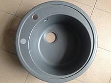 Круглая кухонная мойка Adamant SUN 51x51x20, фото 3