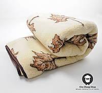 Одеяло из натуральной шерсти, 1.45*2 м, фото 1