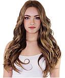 Славянские волосы на капсулах 50 см. Цвет #Русый, фото 3