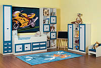 Модульная стенка для детской комнаты «Твинс», Детская комната