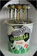 Сатурн Топпі Футбол конфета на палочке