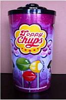 Сатурн Топпі Гум конфета на палочке с жвачкой