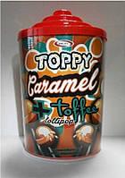 Сатурн Топпі Карамель конфета на палочке