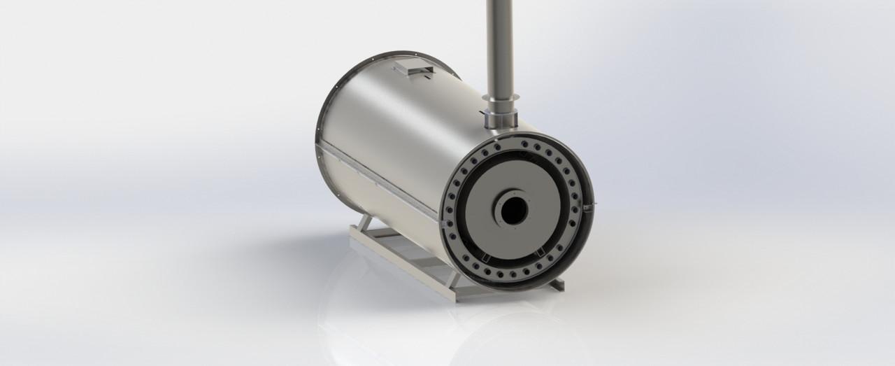 Теплогенератор на жидком топливе ТБ