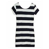 Женское летнее платье в полоску, фото 1