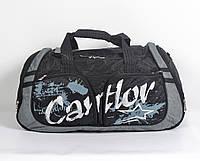 """Практична і стильна  спортивна   сумка """"Cantlor"""" чорна"""